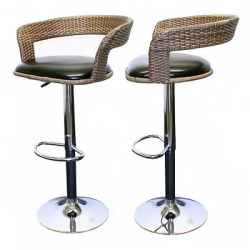 2x barhocker barsessel barstuhl hocker bar drehstuhl for Rattan barhocker