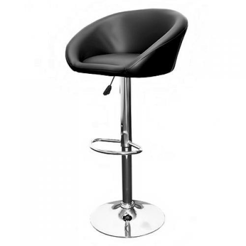 2x barhocker barsessel barstuhl hocker bar dreh stuhl lounge mit lehne schwarz ebay. Black Bedroom Furniture Sets. Home Design Ideas