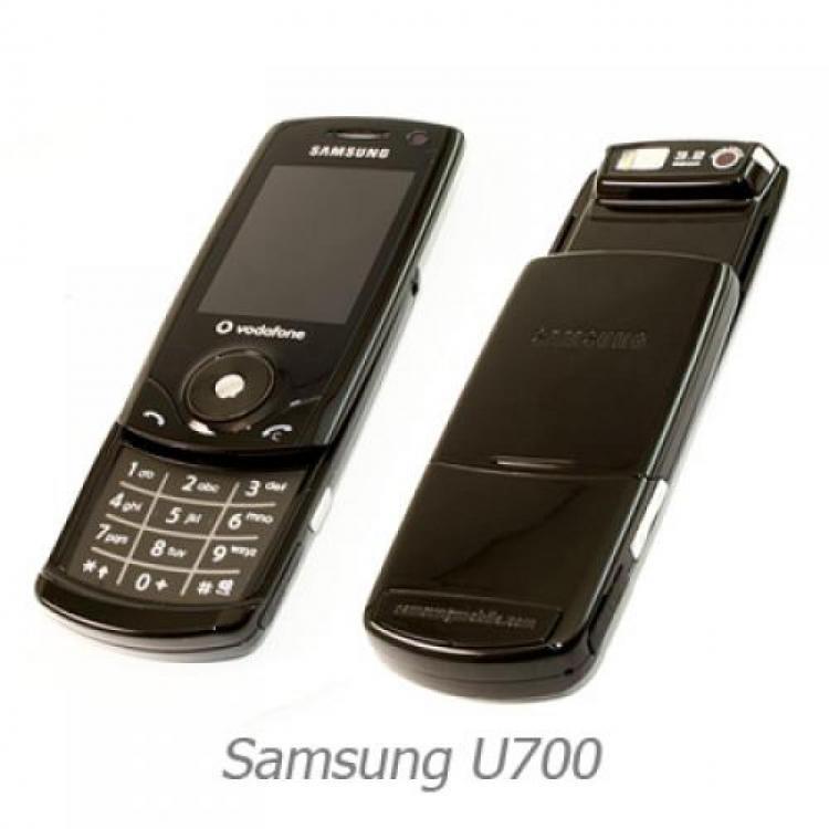 samsung sgh u700 u700 slider handy mobile phone tasten. Black Bedroom Furniture Sets. Home Design Ideas