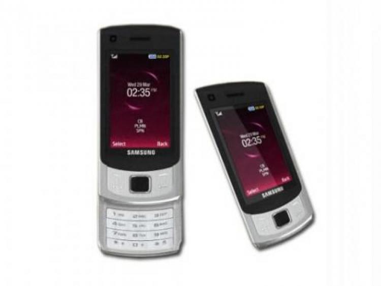 samsung gt s7350 s7350 smartphone slider handy tasten. Black Bedroom Furniture Sets. Home Design Ideas