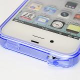 Apple iPhone 4 Ice Case TPU - Lila