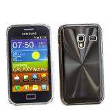 Samsung Galaxy Ace Plus (S7500) Alu case - Schwarz