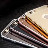 Samsung Galaxy Note 7 Metall Spiegel Bumper - Gold