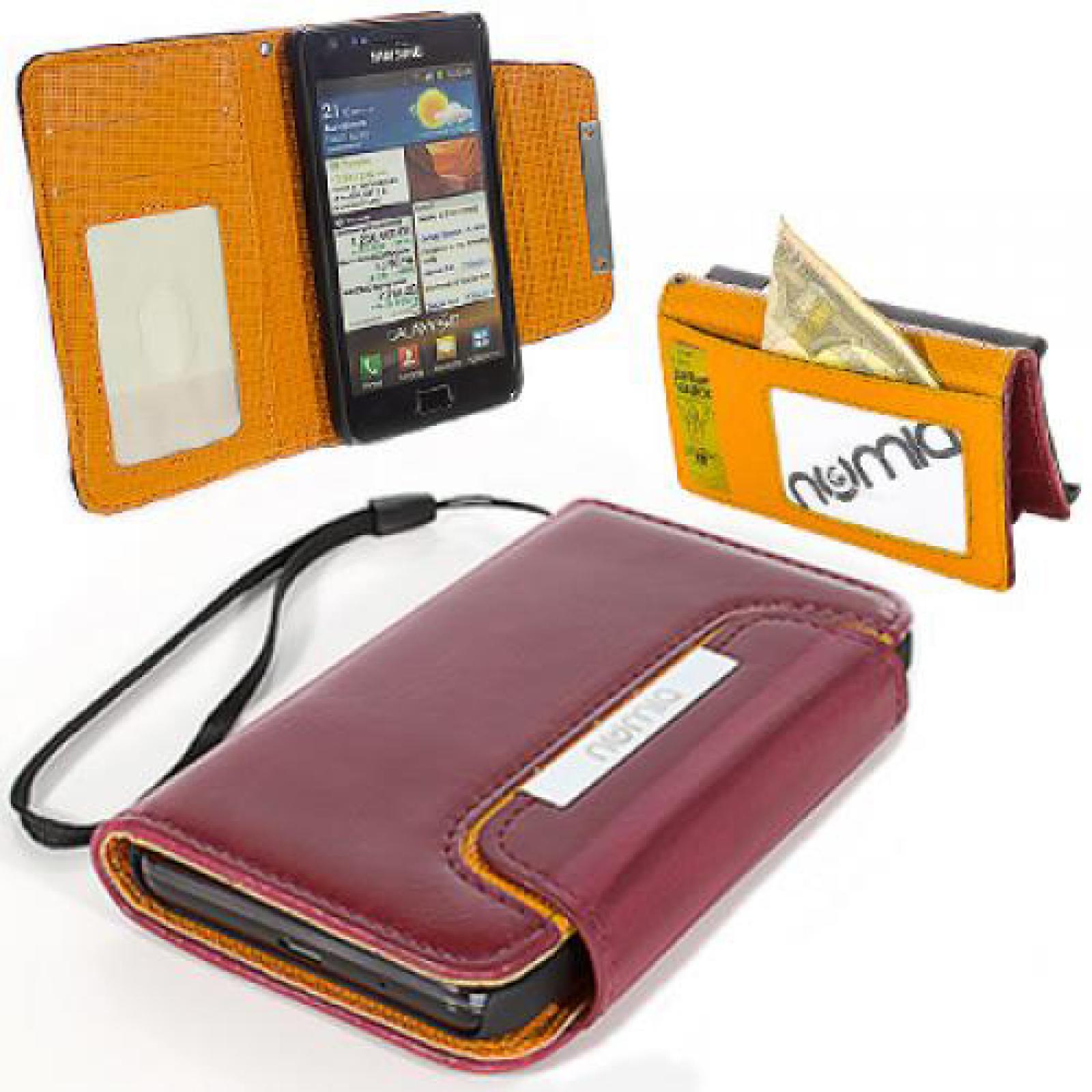 Handy Tasche für Samsung Galaxy Flip Cover Case Schutz ...