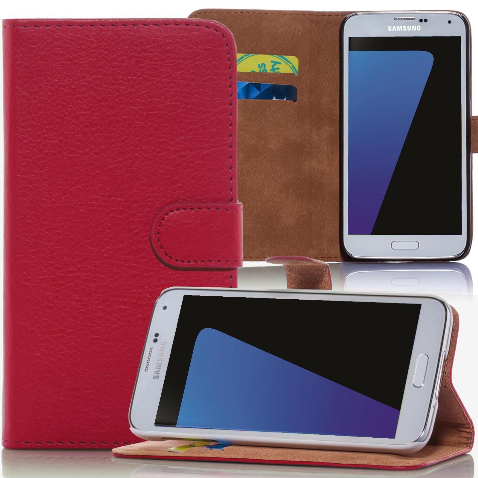 Handy-Tasche-Schutz-Huelle-Flip-Cover-Hard-Case-Design-Book-Style-Klapp-Etui-fuer