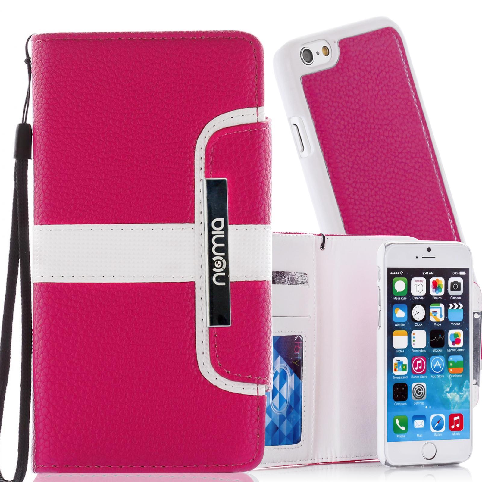 Handy-Tasche-Schutz-Huelle-Flip-Case-Book-Cover-Bumper-Klapp-Etui-Schale-Wallet