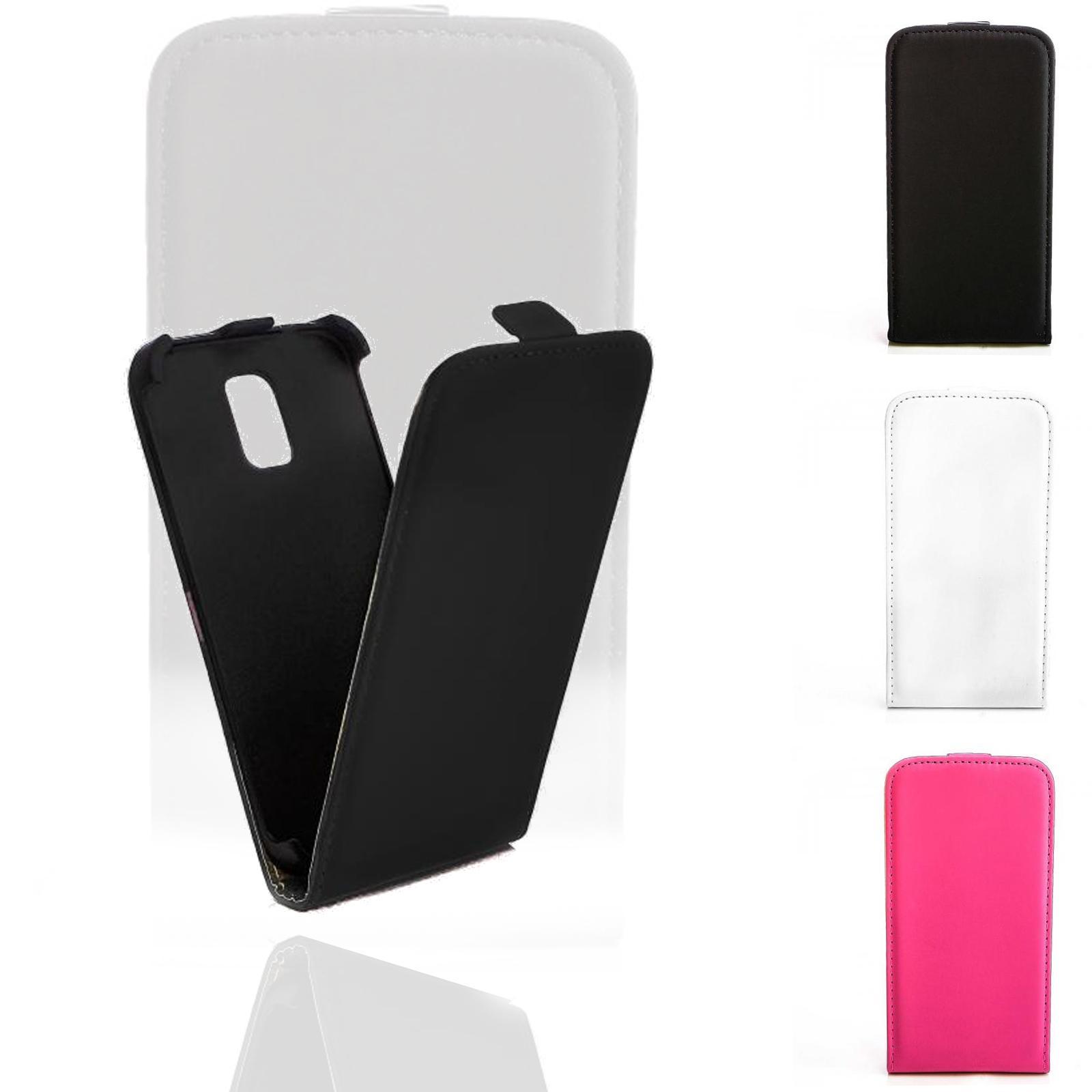 Flip-Case-Handy-Tasche-Schutz-Huelle-Klapp-Etui-Hard-Cover-Flipcover-Ober-Schale