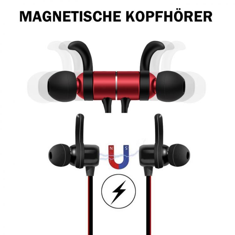 bluetooth kopfh rer kabellos sport running in ear headset. Black Bedroom Furniture Sets. Home Design Ideas